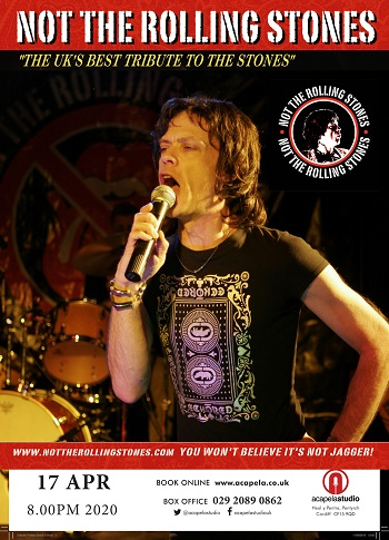 Rolling Stone Best Albums Of 2020 Rolling Stones tribute in Cardiff Wales   Acapela Studio
