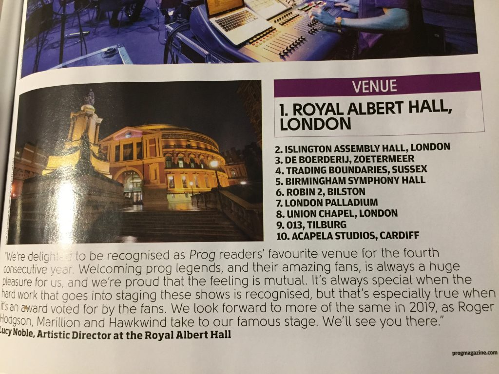 Top ten music venues in UK Acapela Studio